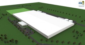 Velocity Park Data Center Color Rendering